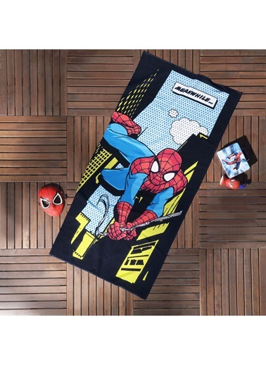 Spiderman Comics Plaj Havlusu-TAÇ